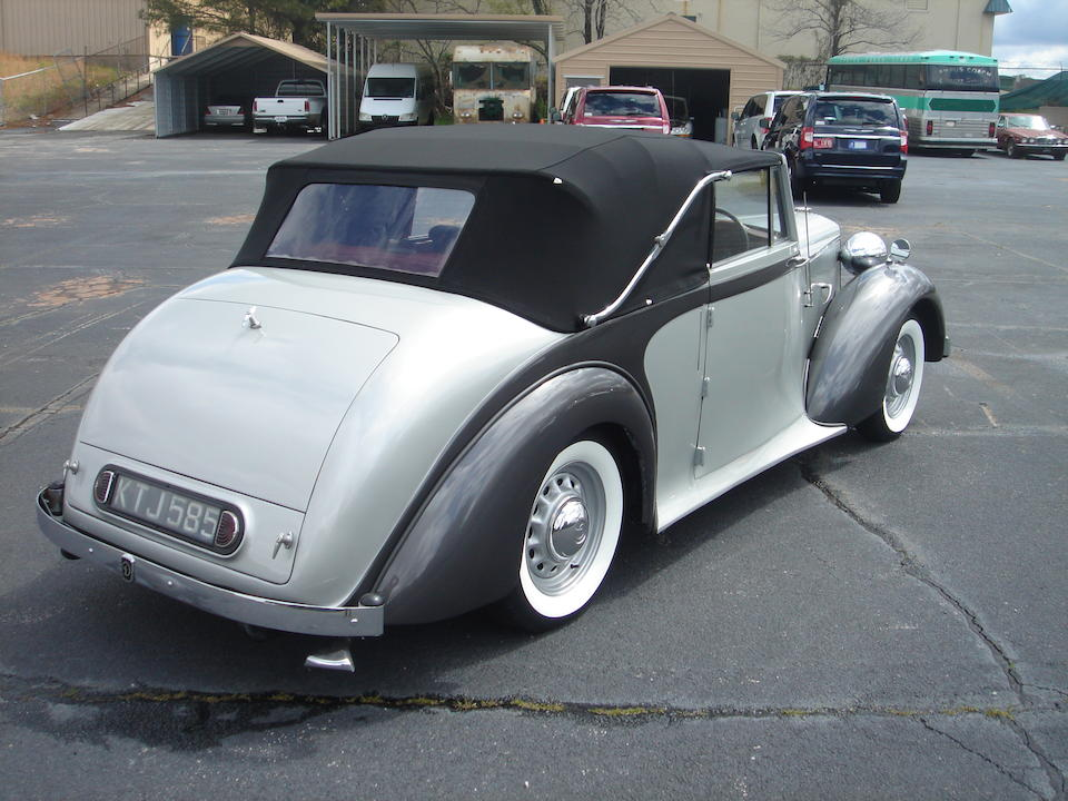 1949 Daimler DB18 Drophead Coupé, Chassis no. 53288