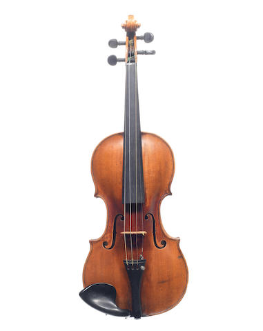 A Violin attributed to Leopold Widhalm, Nürnberg, circa 1730 (2)