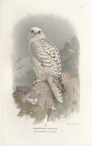 LILFORD (THOMAS L. POWYS, Lord) Coloured Figures of the Birds of the British Islands, 7 vol., 1891-97