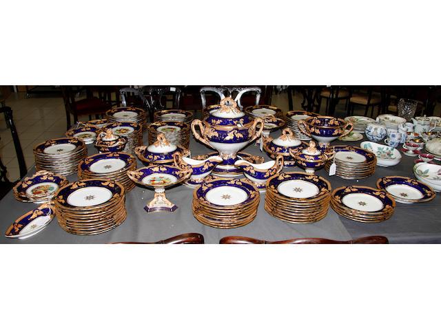A Ridgway porcelain dinner service circa 1840-1845