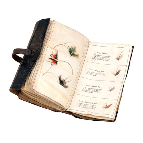 LITTLE (G.) The Unique Fly Book (Registered) [Fly Wallet], c.1882