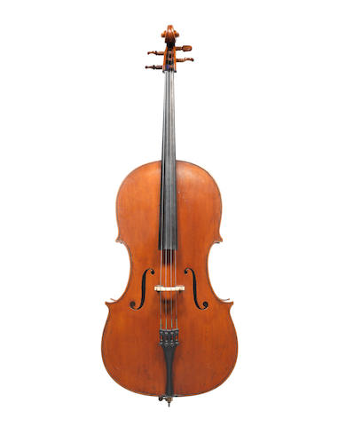 An English Cello attributed to Thomas Kennedy, London, circa 1840 (2)