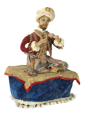 "A Leopard Lambert Turkish Smoker automata, French circa 1890 See ""Automata. The Golden Age 1848-1914"" by Christian Bailly pg.189 for similar Automata."