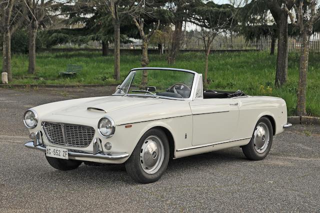 1963 FIAT OSCA 1600 S Spyder 1st Serie  Chassis no. 11SA023722