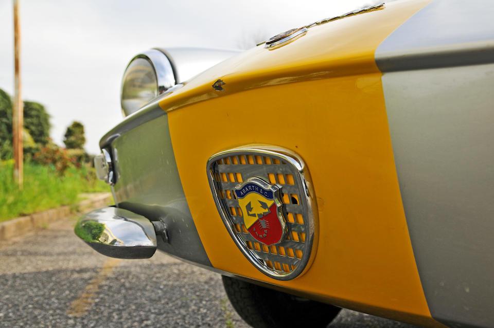 1962 Cisitalia Abarth 850 Scorpione Coupe  Chassis no. 110D-1122579 Engine no. ABA 214S