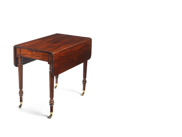 A Regency Pembroke table  attributed to Gillows