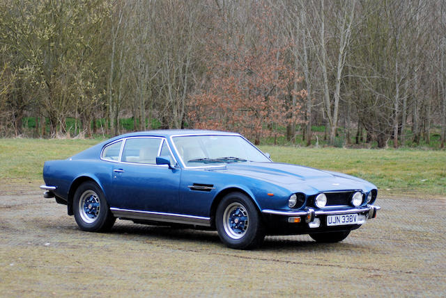 1979 Aston Martin V8 Series 4 Sports Saloon, Chassis no. V8SOR12153 Engine no. V/540/2153/S
