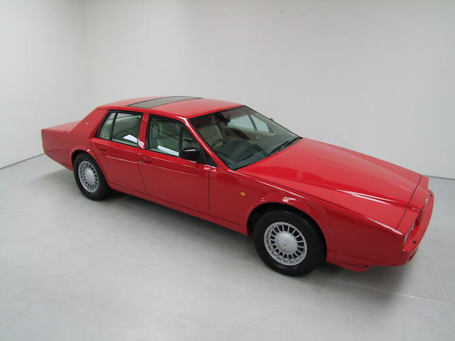 1988 Aston Martin Lagonda Series 4 Saloon, Chassis no. SCFDLO1SOJTR13562 Engine no. V/585/3562