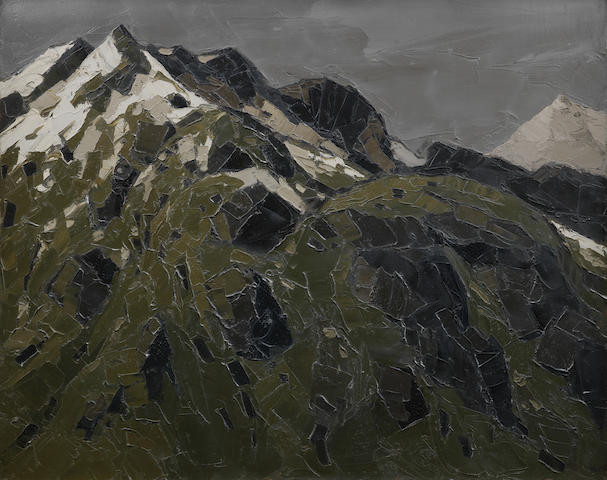 Sir Kyffin Williams R.A. (British, 1918-2006) Gallt Y Wenallt 61 x 76.2 cm. (24 x 30 in.)