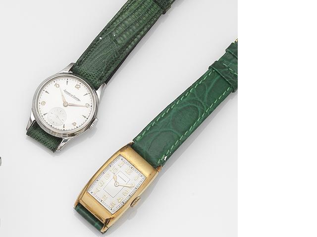 A lot of eight manual wind wristwatches