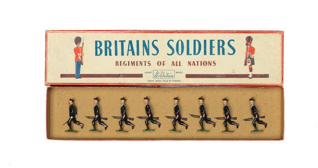 Britains set 143, Matelots of the French Navy 8