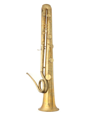 A brass Ophicleide by Charles Joseph Sax circa 1825 (2)