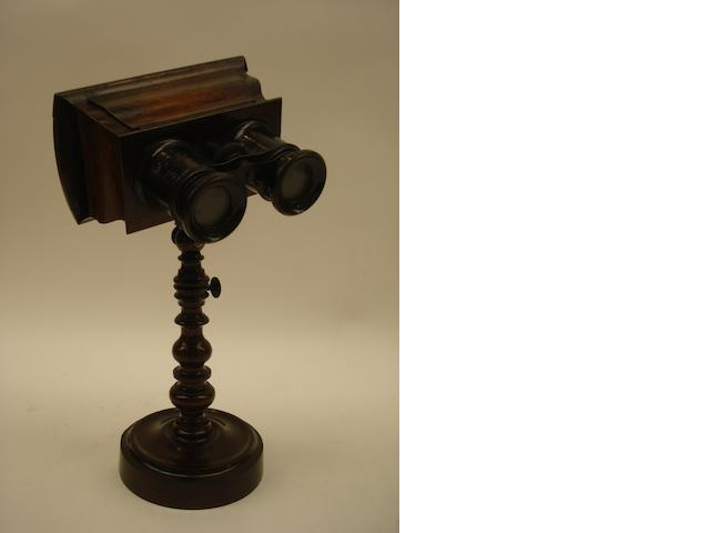 A table stereoscope,