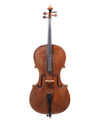An interesting Cello attributed to Jacques W. Hakkert, Rotterdam, 1916 (2)