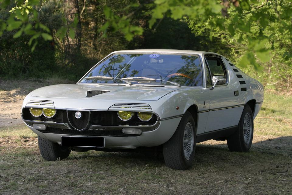 58,000 kilometres from new,1972 Alfa Romeo Montreal Coupé  Chassis no. 14226759