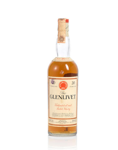 Glenlivet-20 year old