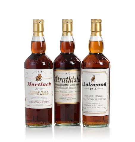 Mortlach-1971  Strathisla-1972  Linkwood-1973