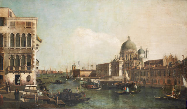 After Bernardo Bellotto, circa 1800 The Grand Canal with the Church of Santa Maria della Salute, Venice
