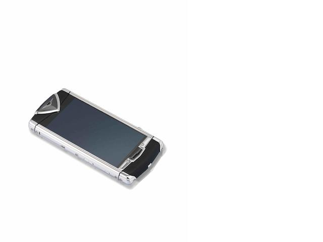 Vertu. A fine stainless steel cellular telephone Constellation Quest, Ref:RM-681V, Case No.T-007020, Sold November 2011