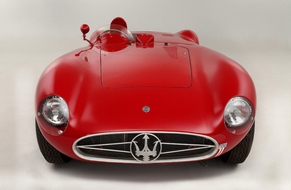 The Ex-Bill Spear/Sherwood Johnston ,1955 Maserati 300S Sports-Racing Spider  Chassis no. 3053 Engine no. 3053 (see text)