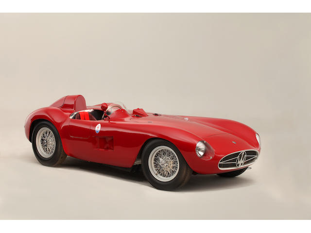 The ex-Bill Spear / Sherwood Johnston, 1955 Maserati 300S Sports-Racing Spider