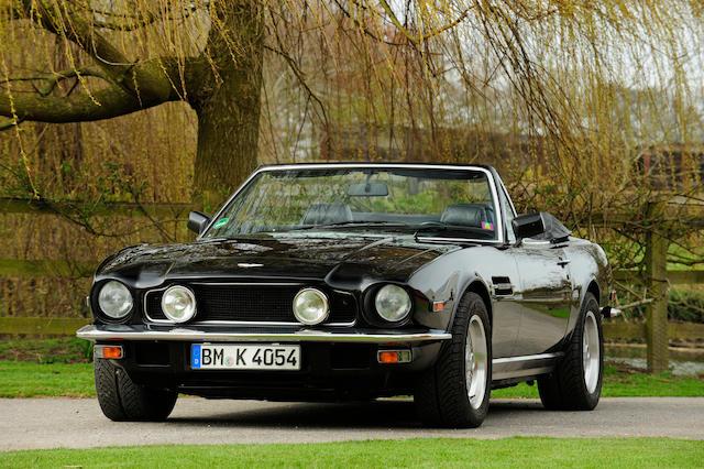 1986 Aston Martin V8 Volante, Chassis no. SCFCV81C8GTL15449 Engine no. V/585/5449/LFM
