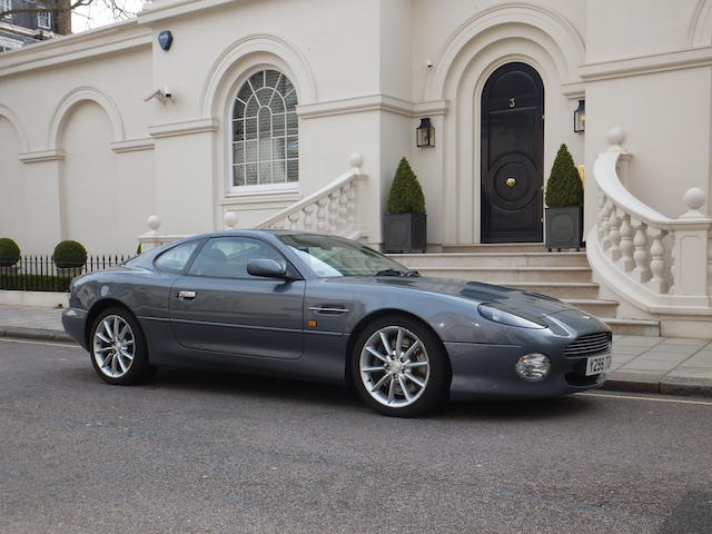 2001 Aston Martin DB7 V12 Vantage Coupé, Chassis no. SCFAB12381K301621 Engine no. AM2/01661