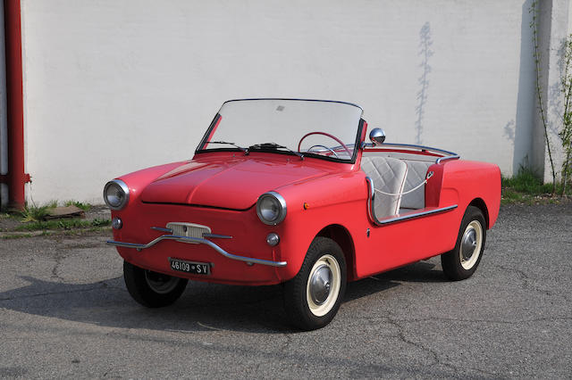 1963 Autobianchi Bianchina Cabriolet Beach Car   Chassis no. 004637