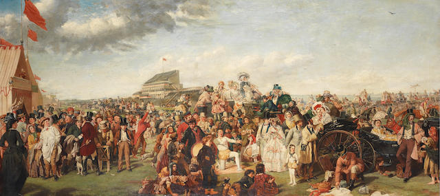 After William Powell Frith, RA The Derby Day