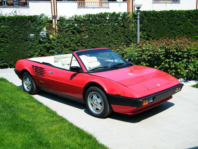 1984 Ferrari Mondial Cabriolet   Chassis no. ZFFLC15B00005109