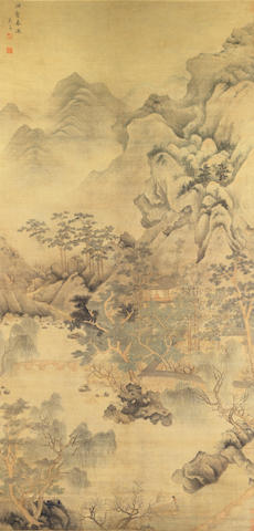 Wu Chang (17th Century) Landscape