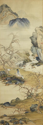 Deng Fen (1894-1964) Beauty by the River