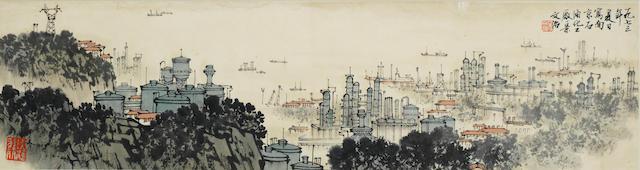 Song Wenzhi (1919-1999) Nanjing Landscape