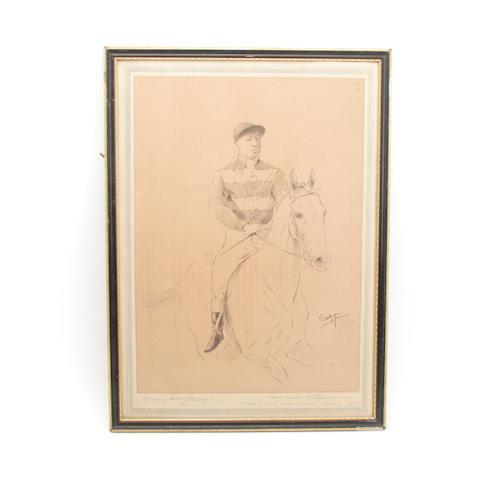 After George Algernon Fothergill A jockey up
