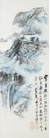 Zhang Daqian (1899-1983) Mountains and Streams