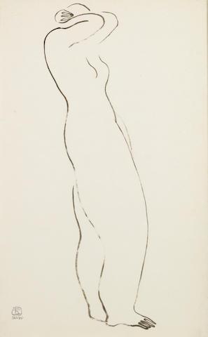 Sanyu (1901-1966) Nude