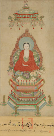 Anonymous (18th Century) Sakyamuni