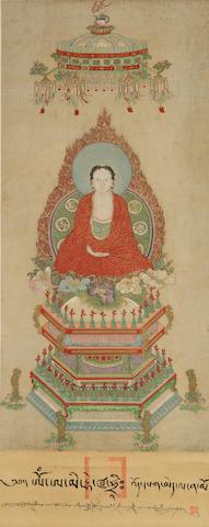 Anonymous (18th Century) Sakyamuni