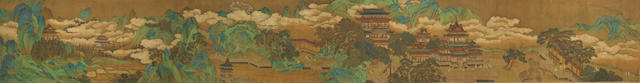 Anonymous (Ming Dynasty) Palace in Blue and Green Landscape