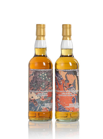Highland Park-1981-30 year old-大鵬海老 (1)   Dailuaine-1976-35 year old-獅子 (1)
