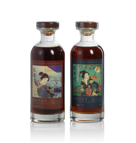 Karuizawa-1981-Geisha Label (1)   Karuizawa-1983-Geisha Label (1)