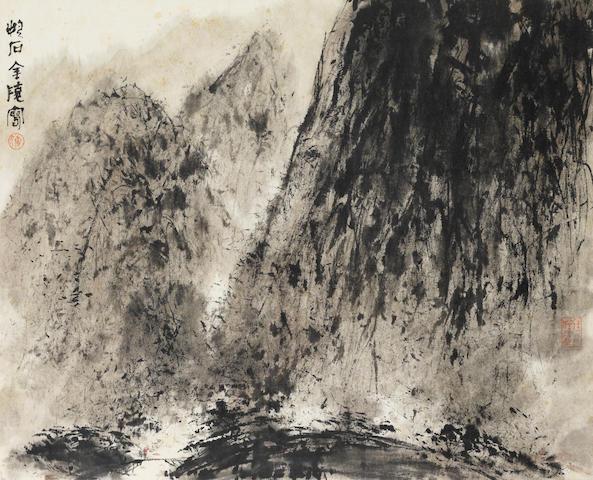 Fu Baoshi (1904-1965) Jinling Landscape