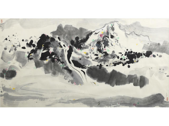 Wu Guanzhong (1919-2010) Yulong Mountain
