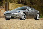 The first production model,2001 Aston Martin Vanquish Coupé  Chassis no. SCFAC13341B500001 Engine no. AM3/00042
