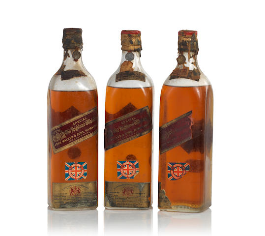 Johnnie Walker Red Label-Circa 1940s (3)