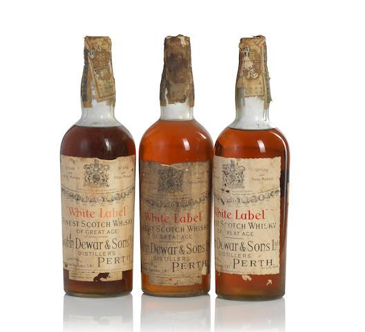 John Dewar & Sons Distiller White Label-Cica 1950s (3)