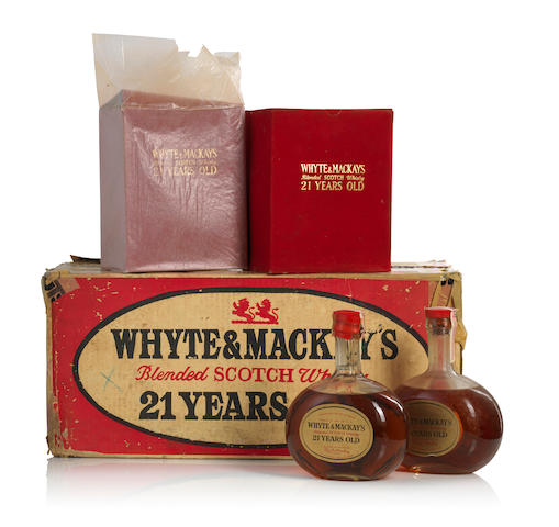 Whyte & Mackay's-21 year old-Cica 1960s (8)