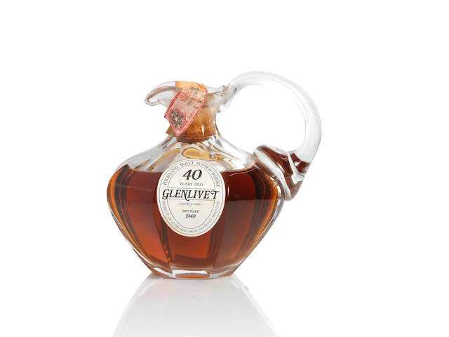 Glenlivet Decanter-1948-40 year old