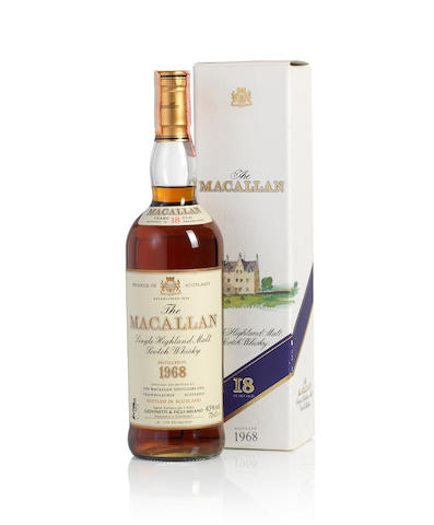 The Macallan-1968-18 year old