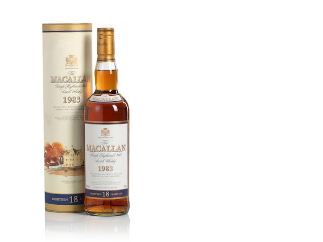 The Macallan-1983-18 year old